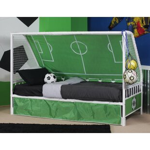 Searching for Arlene Goal Twin Keeper Canopy Bed By Zoomie Kids