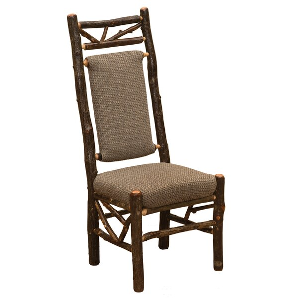 Hickory Twig Upholstered Side Chair by Fireside Lodge