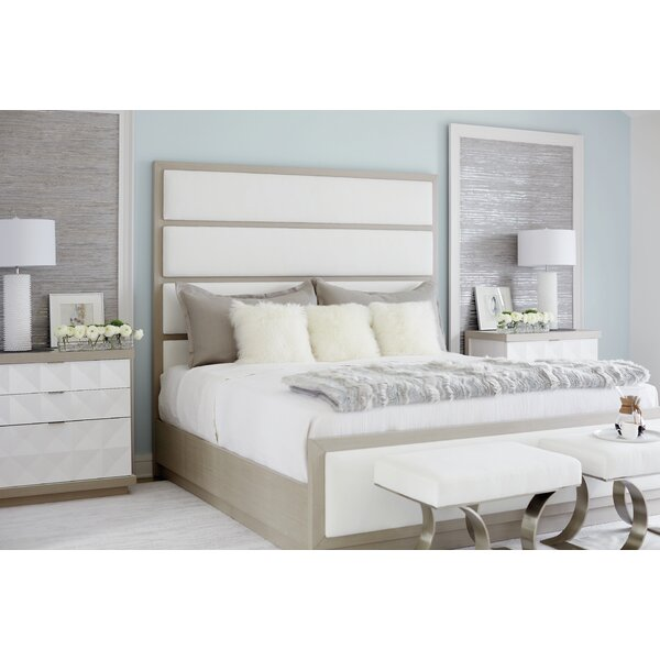 Axiom Upholstered Panel Bed by Bernhardt