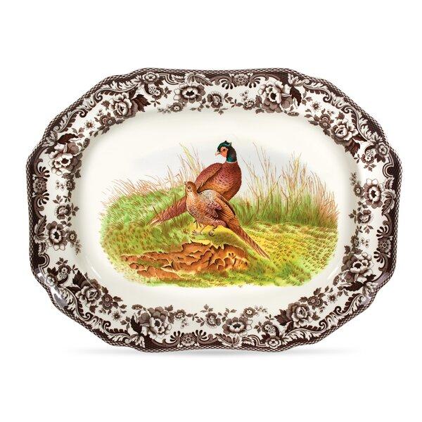 Woodland Octagonal Platter by Spode