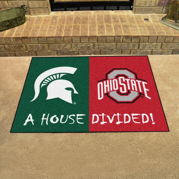 House Divided - Michigan State / Ohio State Doormat by FANMATS