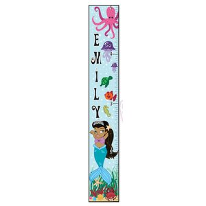 Mermaid Girl Growth Chart by Mona Melisa Designs
