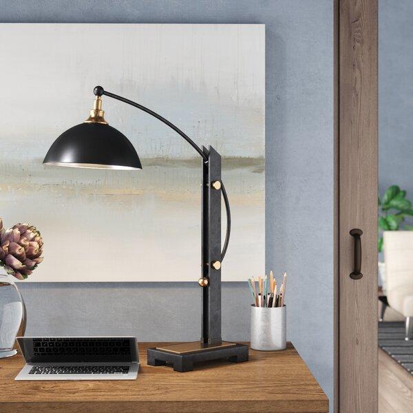 Rebecca 28 Black Desk Lamp by Trent Austin Design