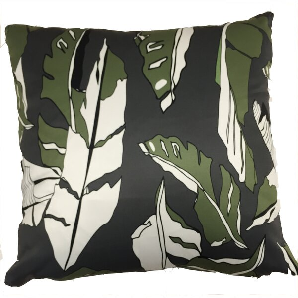 Banana Leaf Throw Pillow by Collier Sun