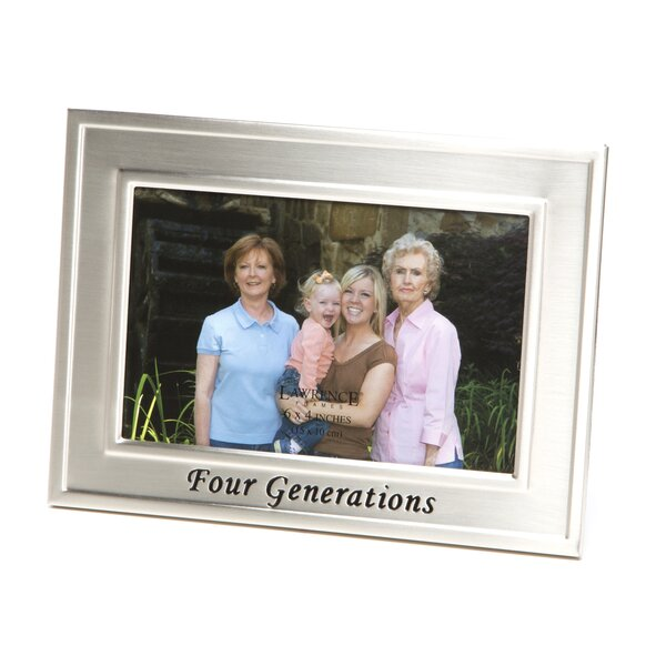 Donley Four Generations Picture Frame by Charlton Home