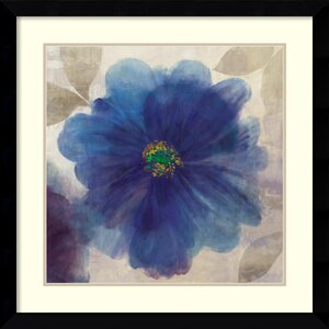 'Indigo Dreams I' by Asia Jensen Framed Painting Print by Amanti Art