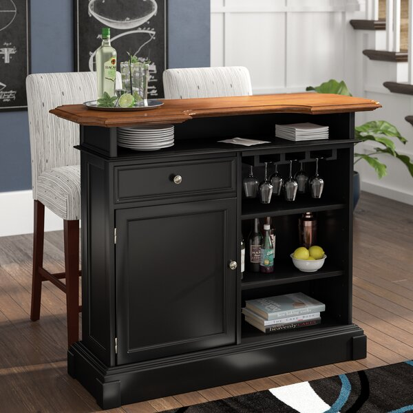 Benally Home Bar By Three Posts
