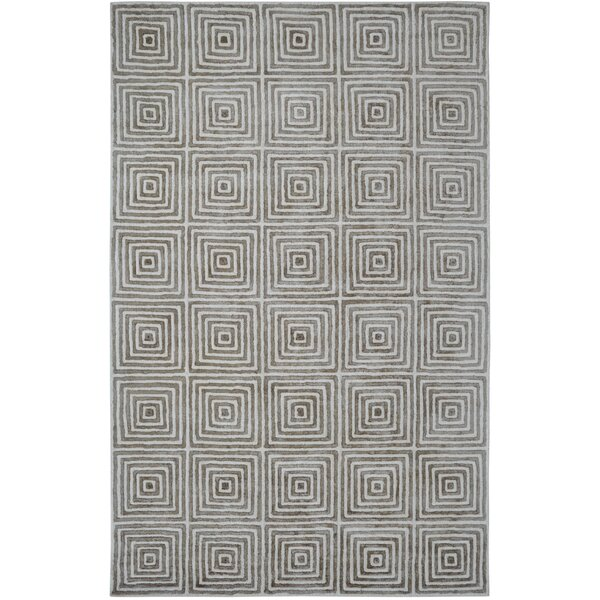 Celeste Ivory / Grey Geometric Rug by Dynamic Rugs