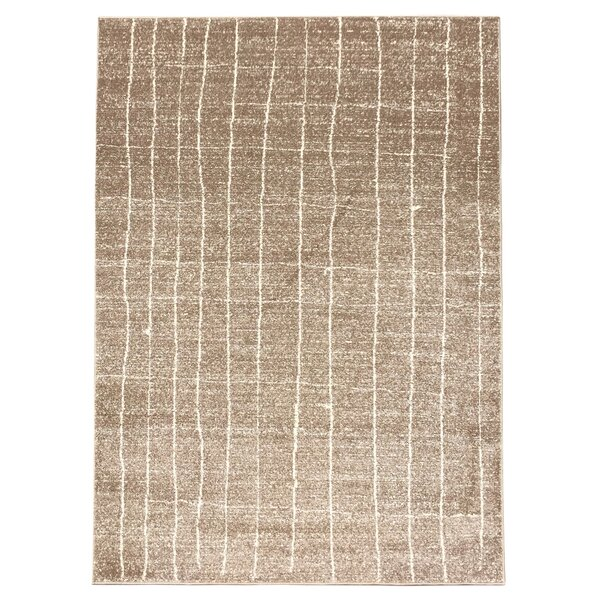 Nida Hand-Woven Cream Area Rug by Williston Forge
