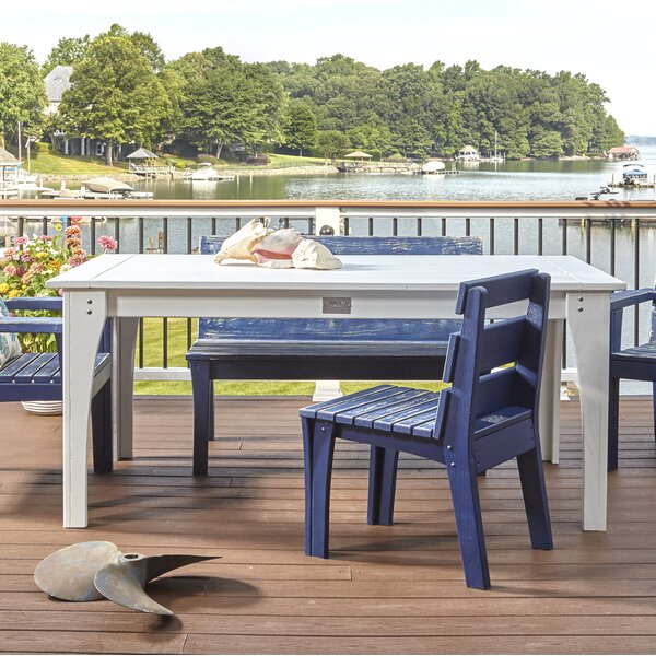 Jarrett Bay Solid Wood Dining Table by Uwharrie Chair