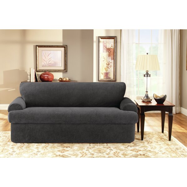 3 Piece T-Cushion Sofa Slipcover by Sure Fit