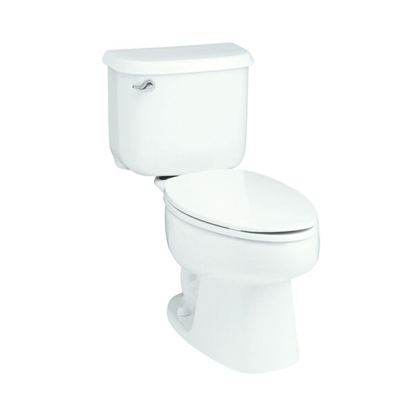 Windham 1.6 GPF Elongated 2 Piece Toilet by Sterling by Kohler