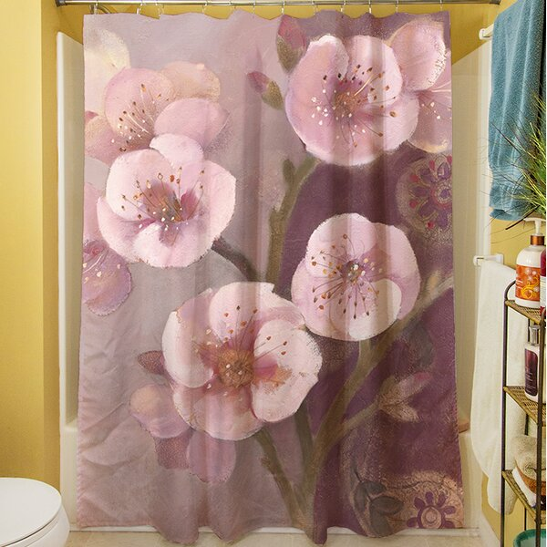 Gypsy Blossom II Shower Curtain by Manual Woodworkers & Weavers
