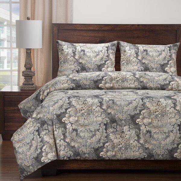 Cindersmoke, Linen Duvet Cover Set