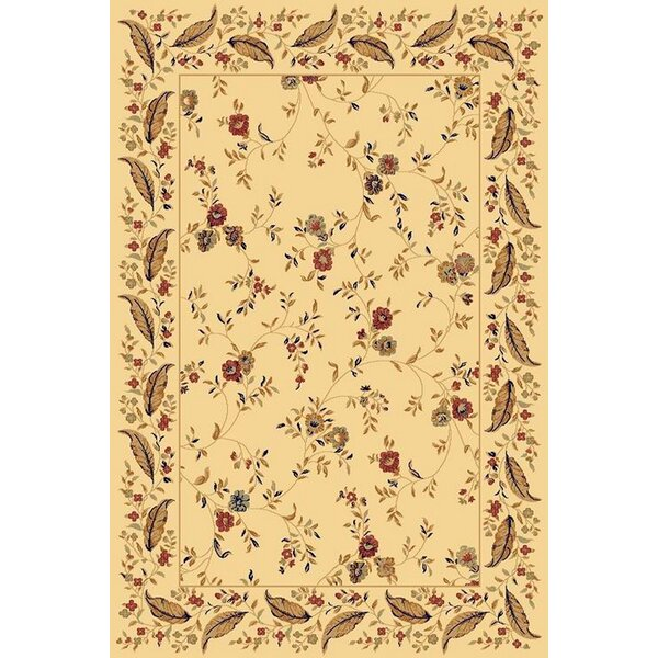 Rindge Cream Area Rug by August Grove