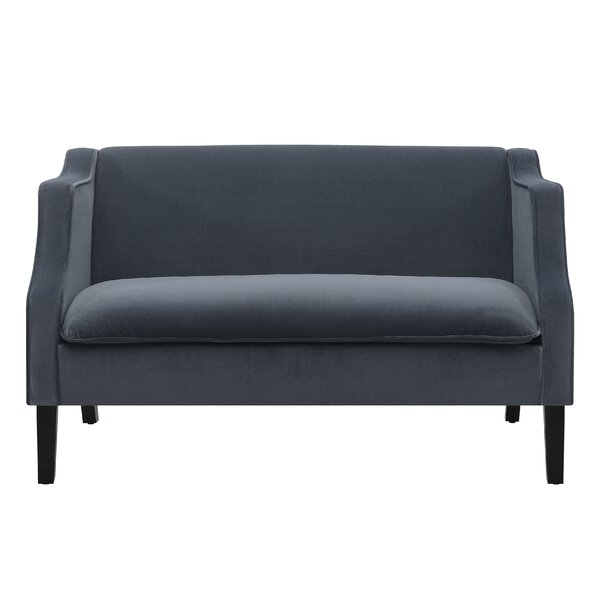 Bourg Tight Back Loveseat by House of Hampton