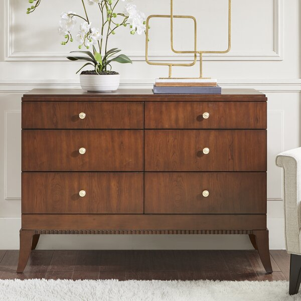 Eleanor 6 Drawer Double Dresser by Madison Park Signature