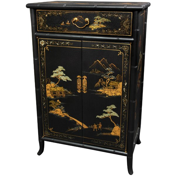 2 Door Accent Cabinet by World Menagerie World Menagerie