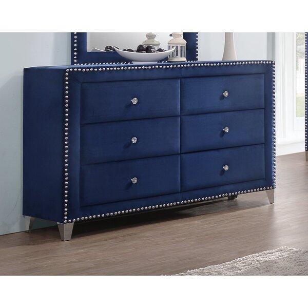 Rosdorf Park Malone 6 Drawer Double Dresser & Reviews by Rosdorf Park