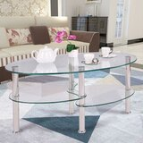 Eddison Coffee Table with Storage by Wrought Studio™