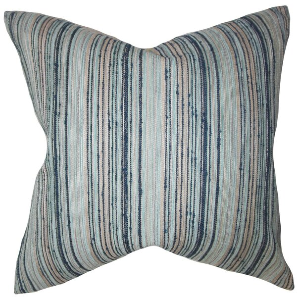 Shea Stripes Throw Pillow Cover by Langley Street