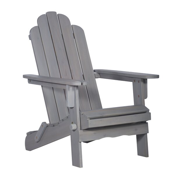Imane Solid Wood Folding Adirondack Chair by Birch Lane Heritage Birch Lane™ Heritage