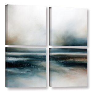 Beyond the Lonely 4 Piece Painting Print on Wrapped Canvas Set by Brayden Studio