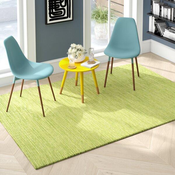 Elbeni Hand Woven Cotton Green Area Rug by Zipcode Design