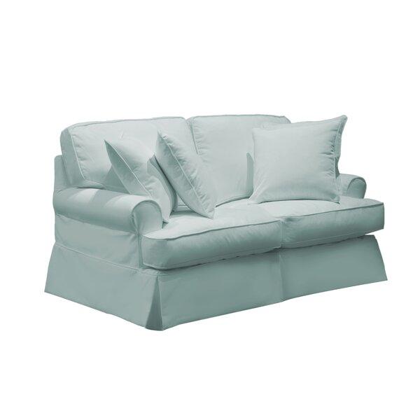 Telluride T-Cushion Loveseat Slipcover by Laurel Foundry Modern Farmhouse