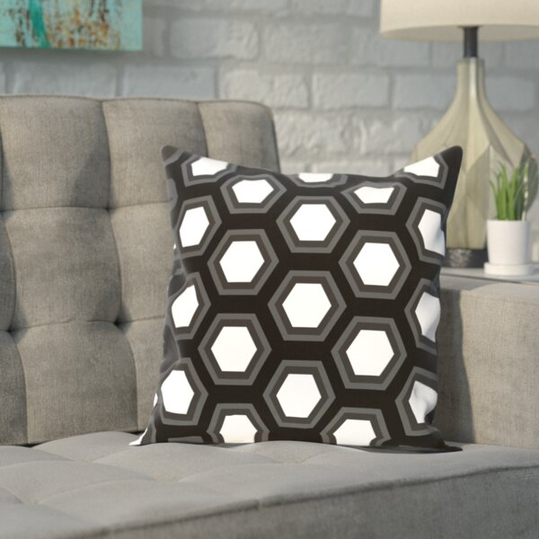 Carnell Throw Pillow by Wrought Studio