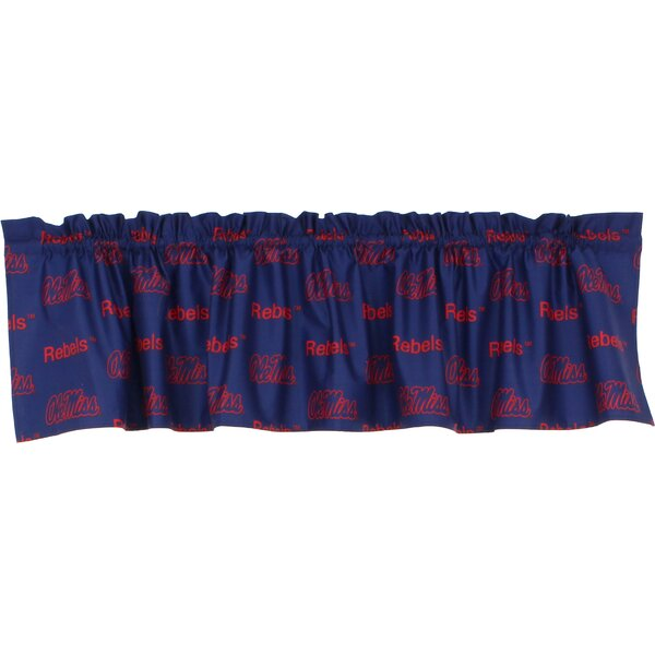NCAA Ole Miss 84 Curtain Valance by College Covers