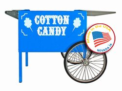 Deep Well Cotton Candy Cart by Paragon International