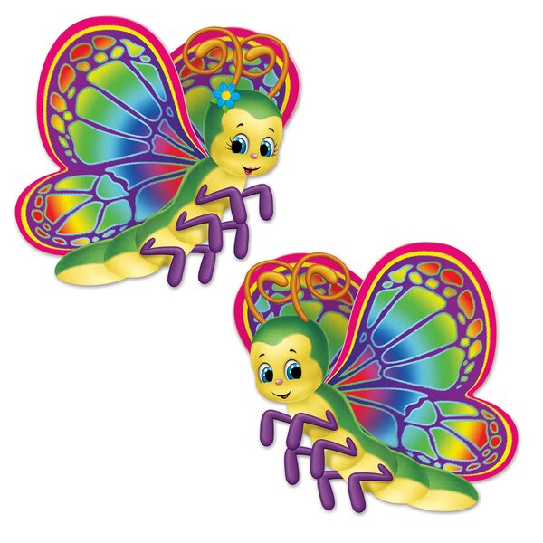 2 Piece Butterfly Standup Set (Set of 3) by The Beistle Company