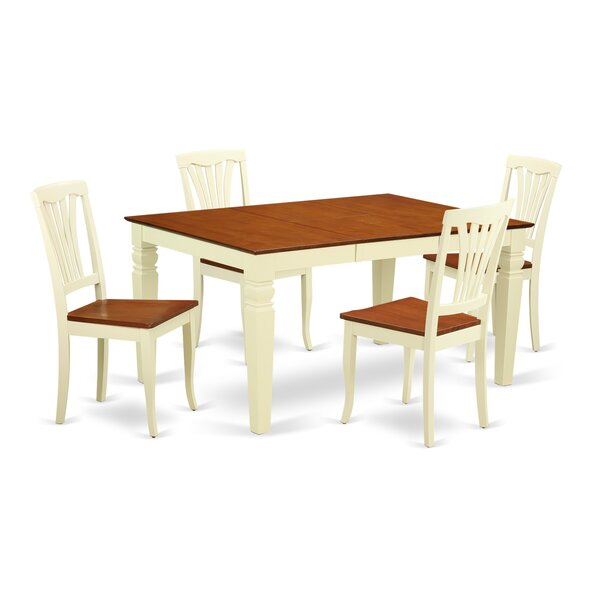 Arkin 5 Piece Dining Set by Darby Home Co Darby Home Co