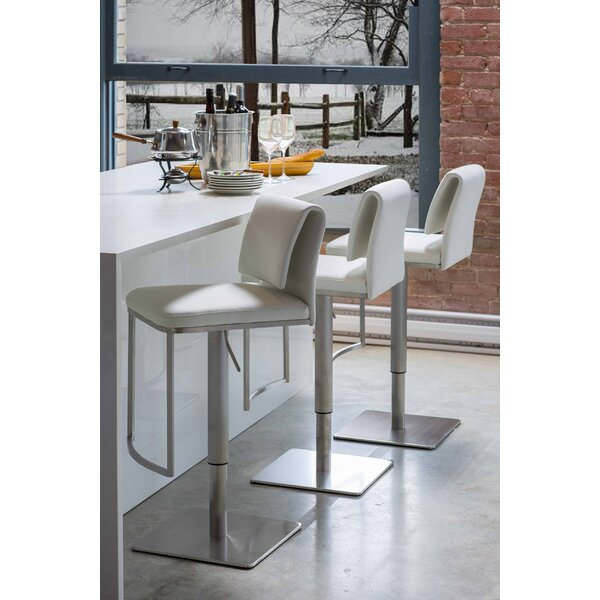 Neo Adjustable Height Swivel Bar Stool by Mobital