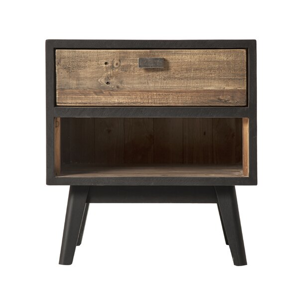 Kandy 1 Drawer Nightstand by Loon Peak