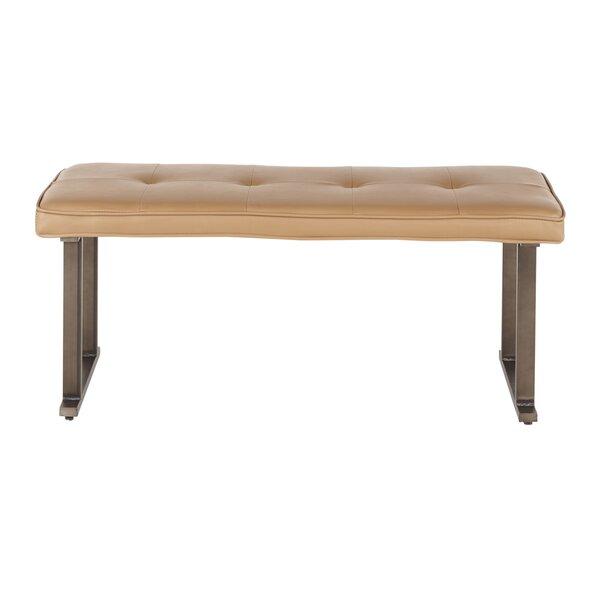 Godin Upholstered Bench by Charlton Home