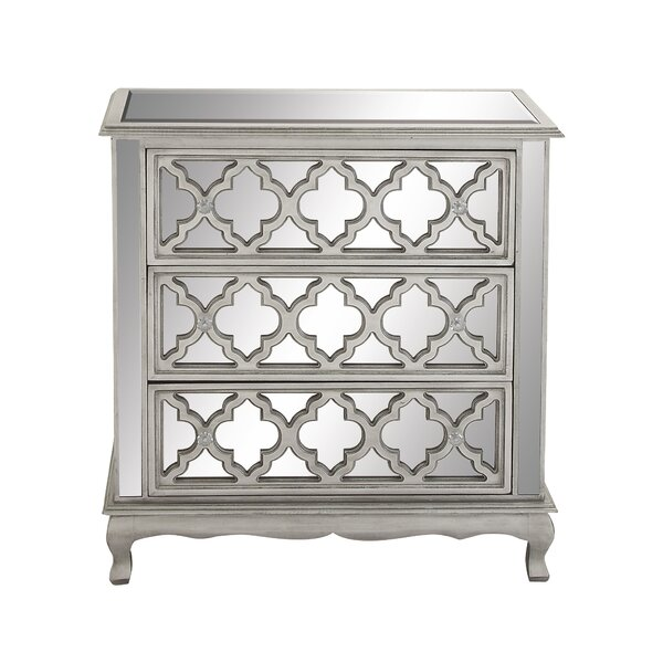 3 Drawer Accent Chest [Cole Grey]