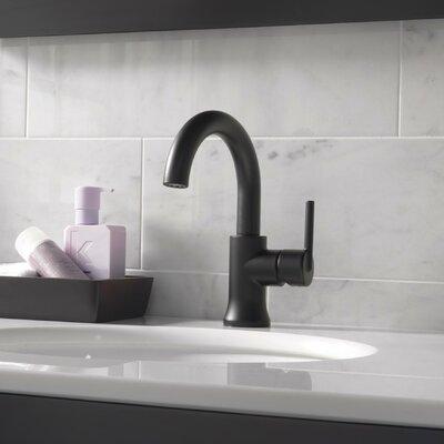 Single Faucet Drain Seal Matte Black photo