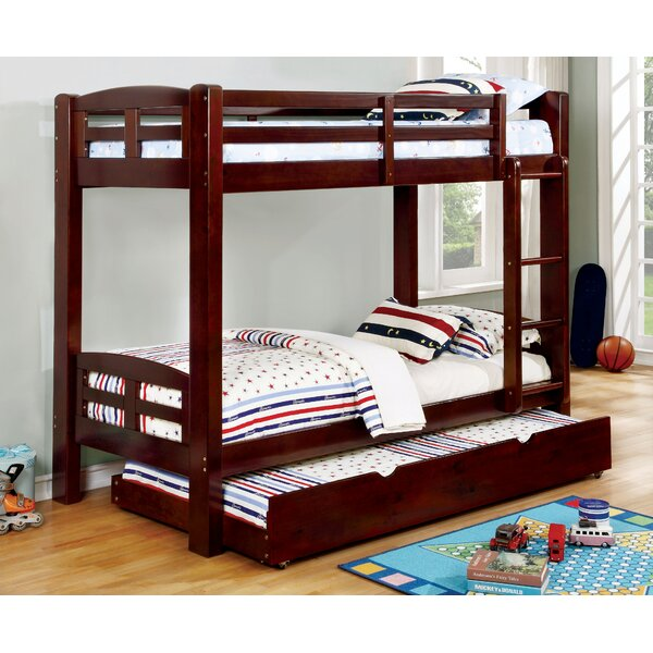 Hanahan Twin over Twin Bunk Bed by Harriet Bee