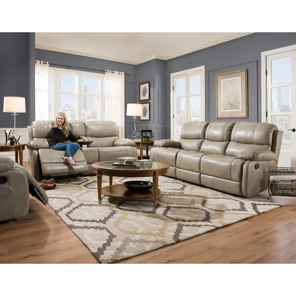 Weccacoe Reclining 3 Piece Living Room Set by Latitude Run