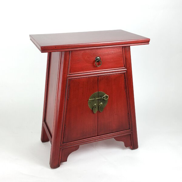Wanaque 1 Drawer 2 Door Accent Cabinet by Bloomsbury Market Bloomsbury Market