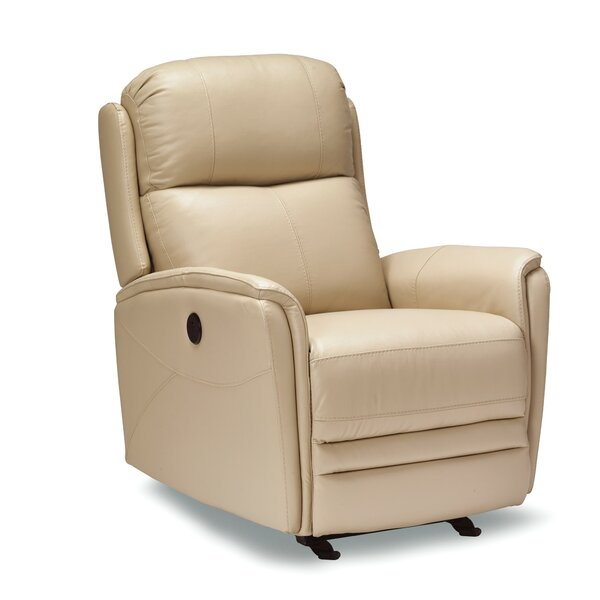 Mcnaughton Leather Power Rocker Recliner [Red Barrel Studio]