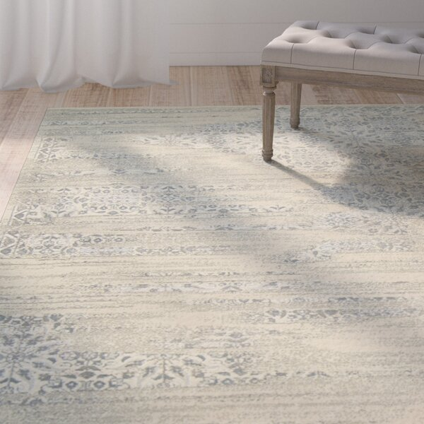 Bourgault Bone Area Rug by One Allium Way