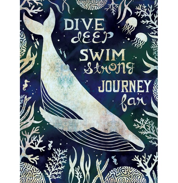 Dive Deep by Alice Feagan Paper Print by Oopsy Daisy