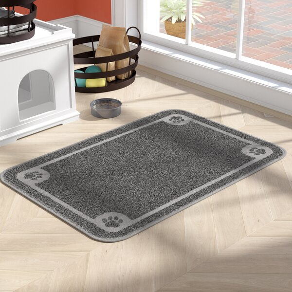 Dinah X-Large Litter Catcher Mat in Grey by Archie & Oscar