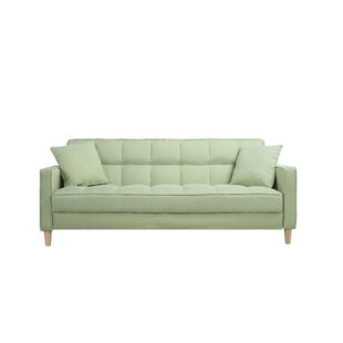 Exceptionnel Wooler Modern Linen Fabric Tufted Small Space Sofa