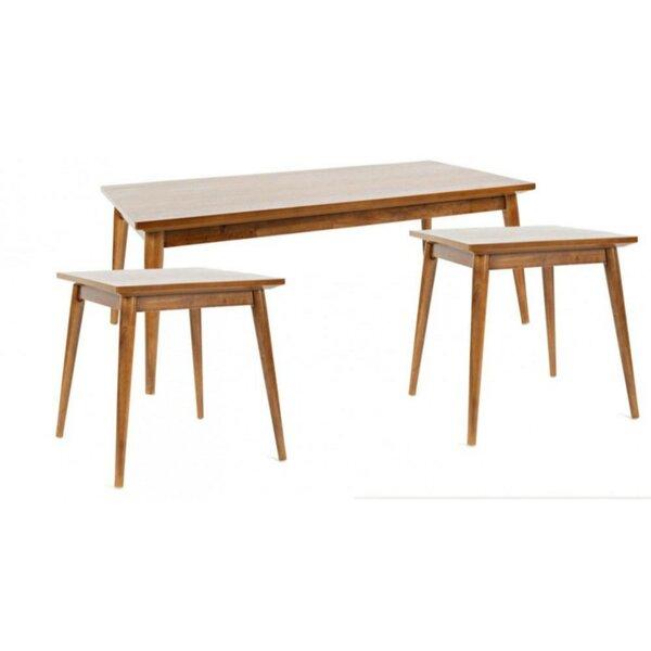 Evadne 3 Piece Coffee Table Set by Union Rustic