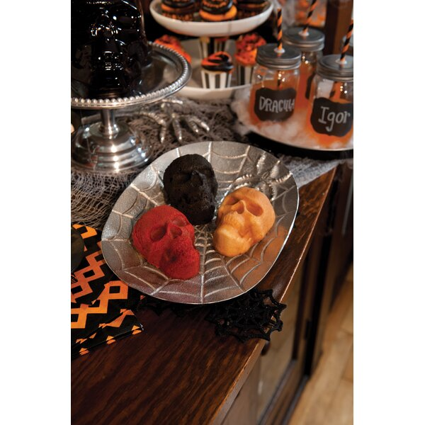 Fall Harvest Series Skull Cakelet by Nordic Ware