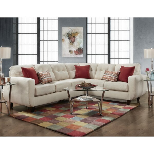 Levering Tufted Sectional by Latitude Run